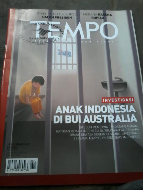 harga Tempo anak indonesia di bui australia. Tokopedia.com