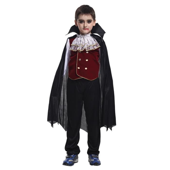 ... Dewasa Children Halloween Berkerudung Jubah Cape Cosplay Pesta Bola Kostum-Intl. Source · COSPLAY Baju ANAK kostum pangeran vampire halloween party