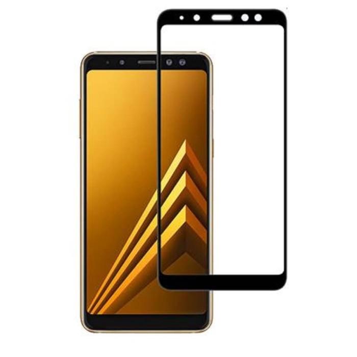 Jual Tempered Glass Samsung Galaxy A6 Plus Warna Color Full Layar