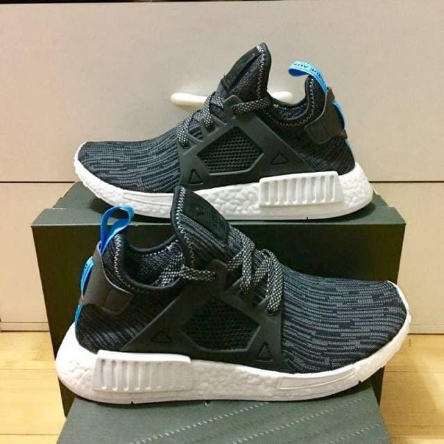 082d2464d0f Jual Adidas NMD XR 1 Pk Black Grey Blue Glitch Camo S32215 - brainlystore |  Tokopedia