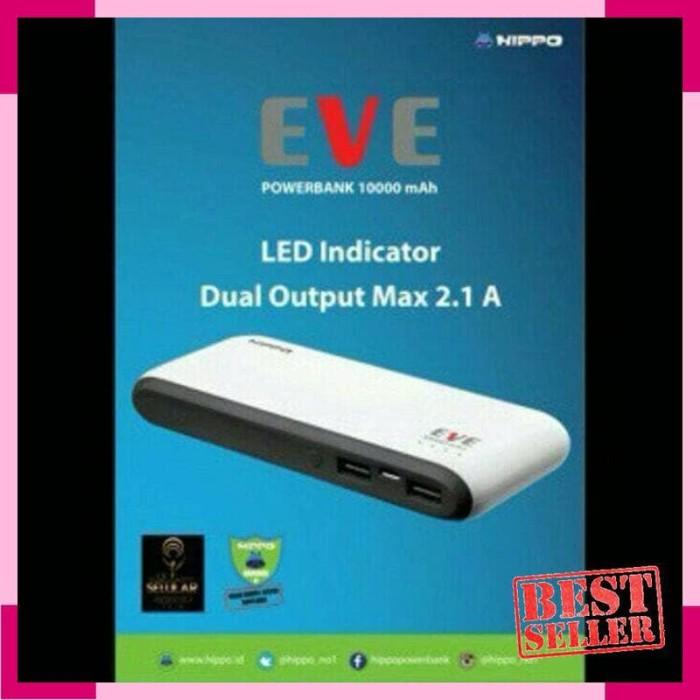 POWERBANK HIPPO EVE 10000mAh / POWER BANK 10000 mAh / 2 USB / 2USB