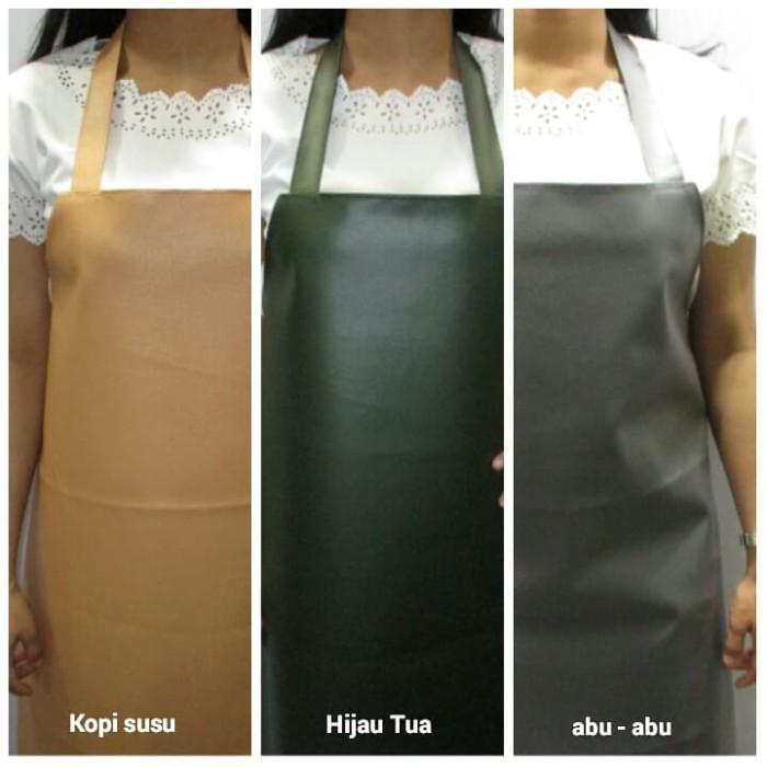 Foto Produk Celemek apron PVC ( Syinthetic Leather) Kulit sintesis berkualitas dari Tuan Toman