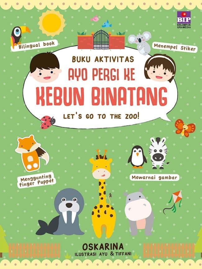 Jual Buku Aktivitas Ayo Pergi Ke Kebun Binatang Dki Jakarta