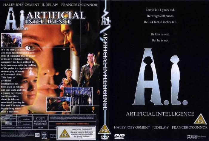 Jual A I Artificial Intelligence 2001 Dvd High Resolution 1080p Kota Bekasi A Breeder Tokopedia