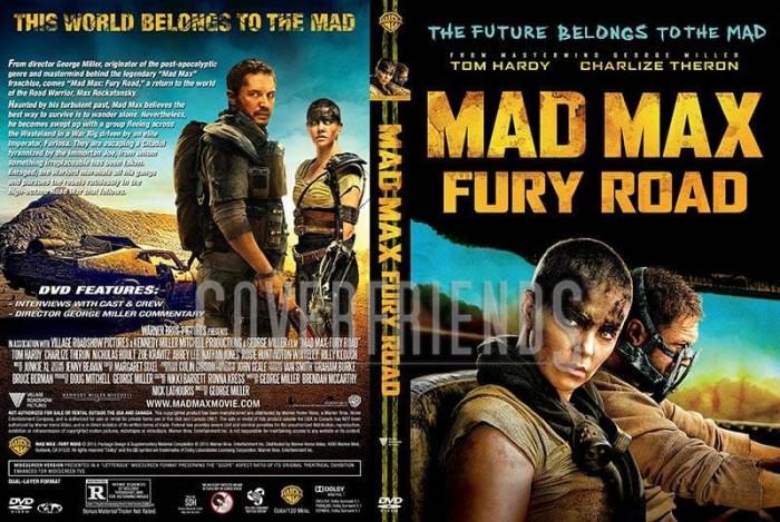 Jual Mad Max Fury Road 2015 Dvd High Resolution 1080p Kota Bekasi A Breeder Tokopedia