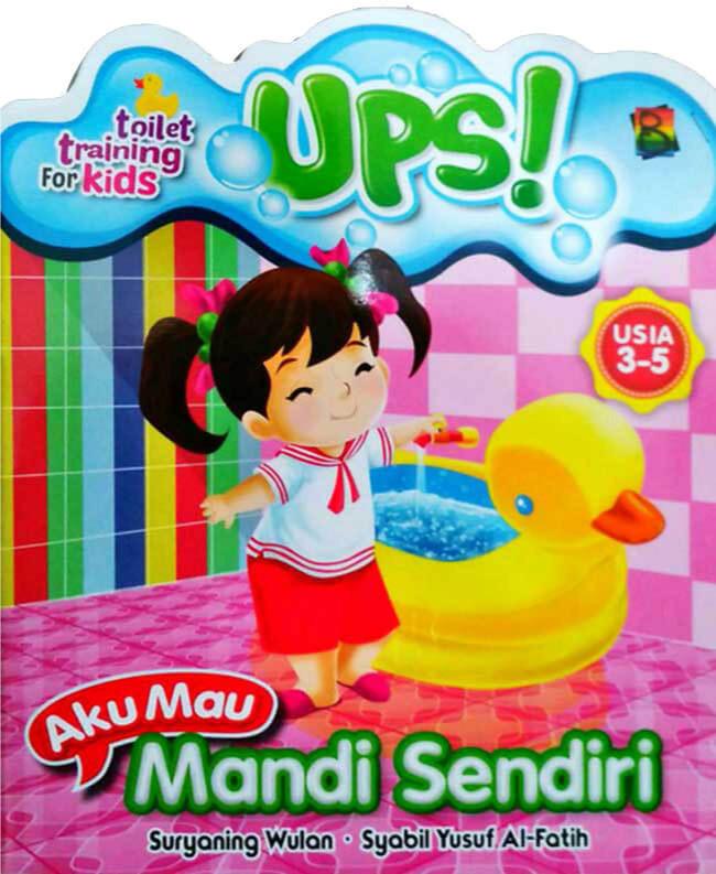 harga Toilet training for kids aku mau mandi sendiri Tokopedia.com