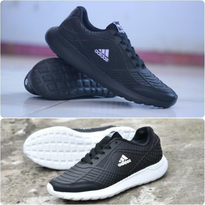 ... harga Sepatu adidas running untuk sekolah joging lari sport sneakers  pria Tokopedia.com d75423e1f3