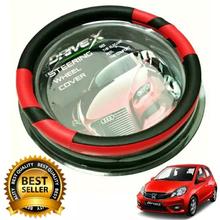 Cover/Sarung /pelindung Stir Setir Steer Mobil Toyota AVANZA HITAM