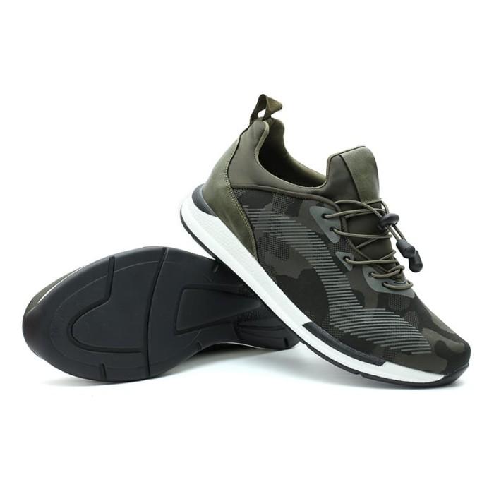 cavallero udori cci19513h18 men's casual shoes - green - hijau 39