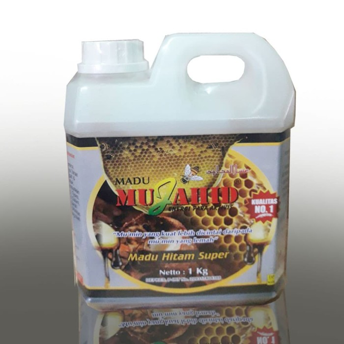 Foto Produk madu hitam pahit super 1 kg mujahid dari winacollection