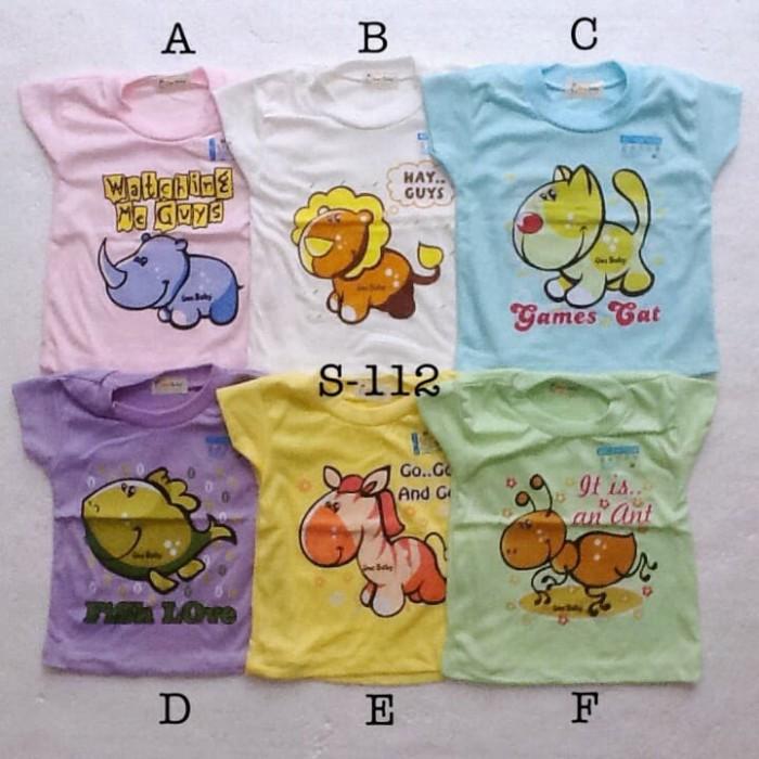 Foto Produk baju harian atasan kaos santai murah size M anak bayi unisex dari The Fairy Babyshop