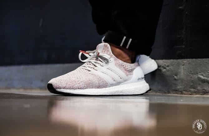 6ffa0a16175 Jual Sneakers Adidas Ultraboost 4.0 Candy Cane Sepatu Ultra Boost Pk ...