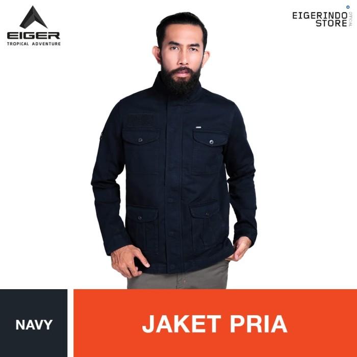 harga Eiger riding moutley jacket - navy / jaket pria Tokopedia.com