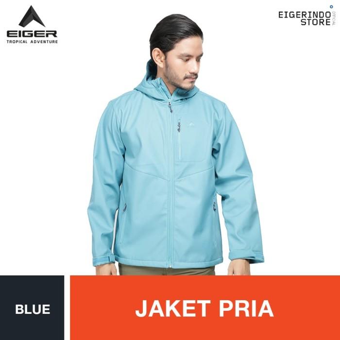 harga Eiger millerton jacket - blue / jaket pria Tokopedia.com