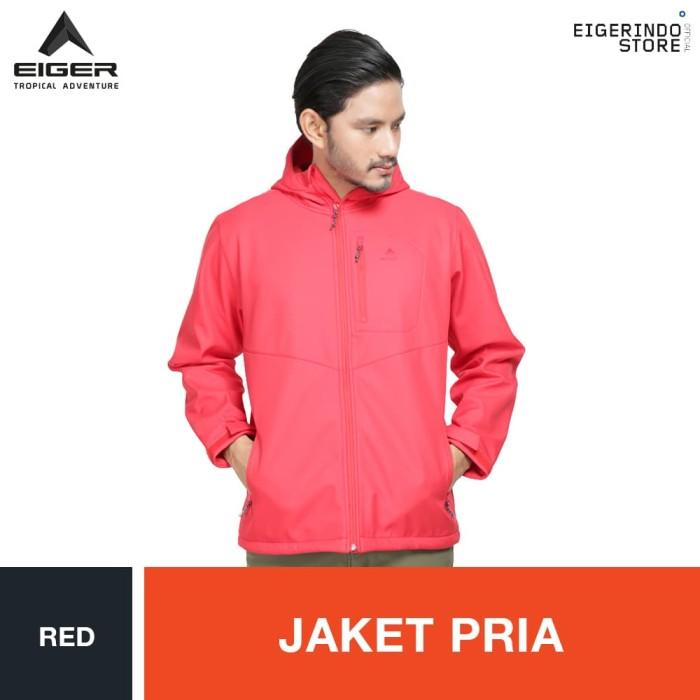 harga Eiger millerton jacket - red / jaket pria Tokopedia.com