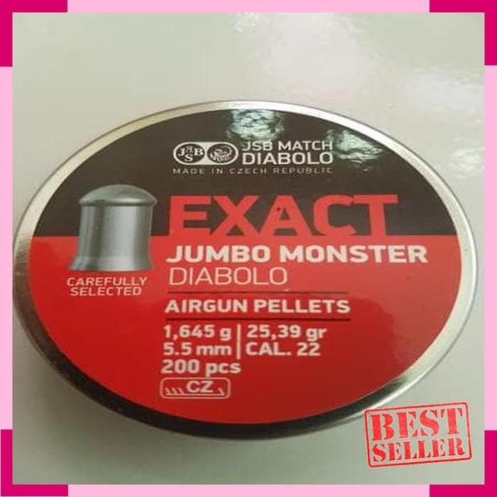 harga Airsoft Gun - mimis jsb jumbo monster cal 22/5-5mm Tokopedia.com