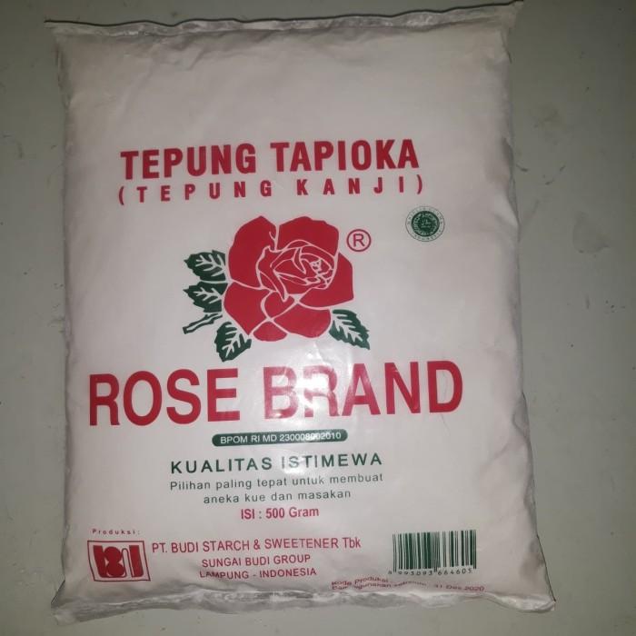 Jual Tepung Tapioka Rose Brand 500 Gr - Kota Bandung
