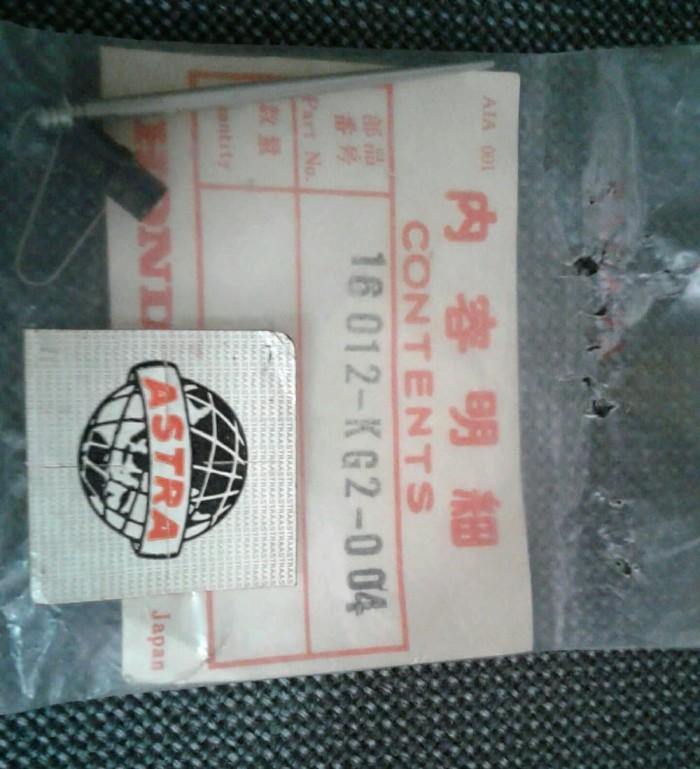 Jual Jarum Skep Karburator Gl Pro Cdi 16012 Kg2 004 Murah