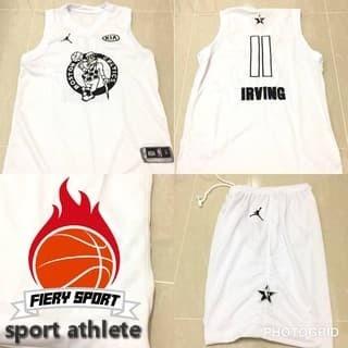 outlet store f84ec 2564f Jual sportathlete Jersey basket NBA All star Kyrie Irving Uncle Drew -  sport athlete | Tokopedia