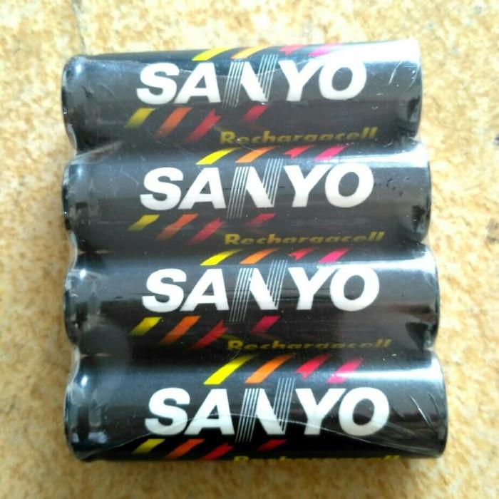 Baterai Rechargeable AA Sanyo 700mAh