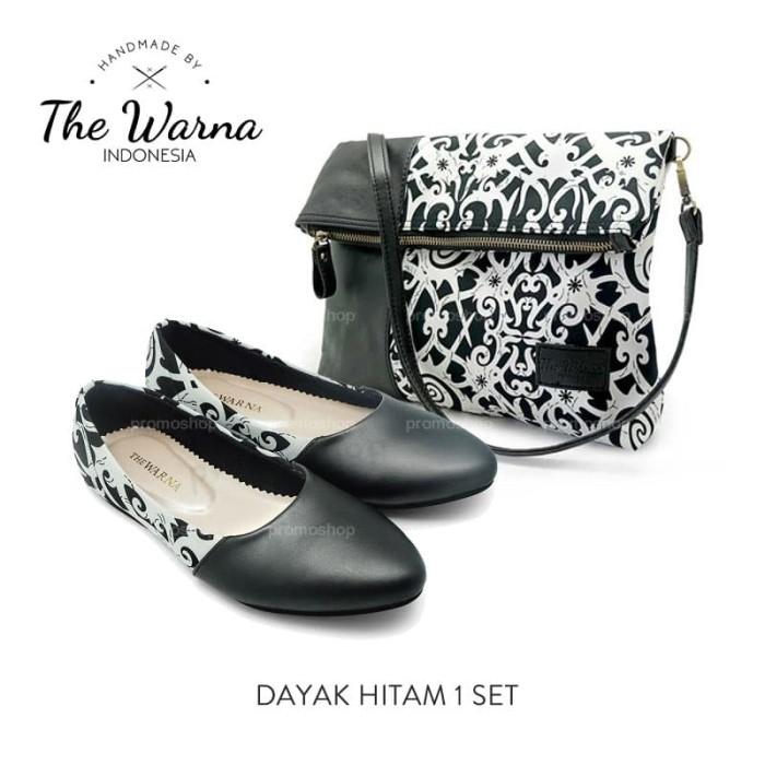 b5272c4f3ec Jual Sepatu dan Tas Wanita The Warna Setelan Set Original Handmade ...