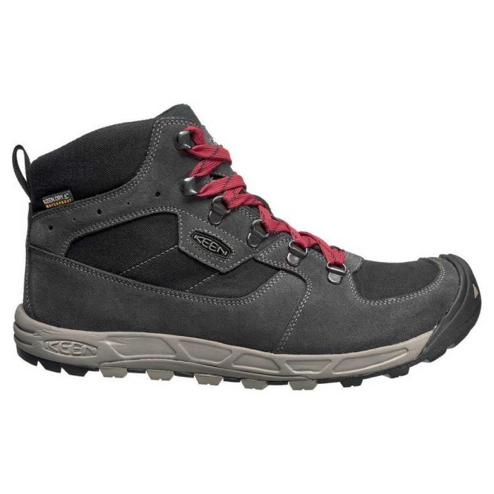 Sepatu Gunung Keen Westward Mid Water Proof - Original - Gargoyle Black e11b7bbc88