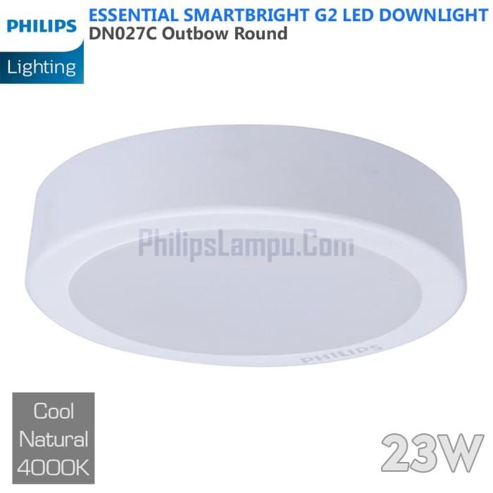 Foto Produk Lampu Downlight LED Outbow Philips 23W DN027C 23 W Cool White Natural dari philipslampu