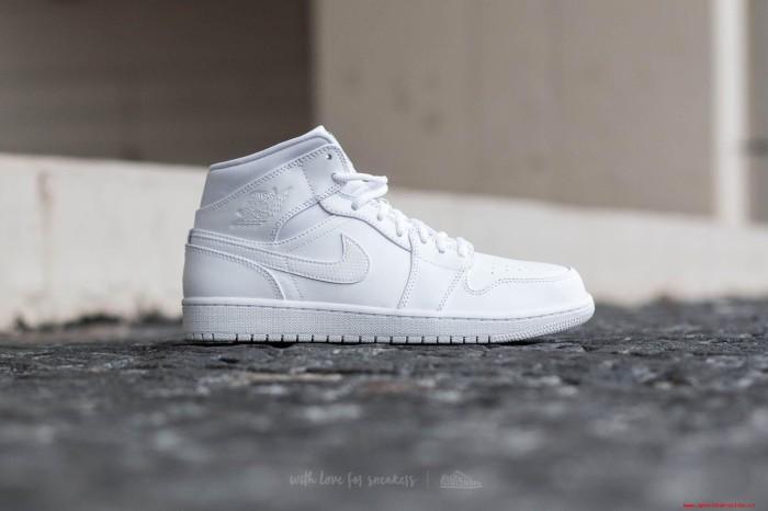 ed41041c64777b Jual Sepatu Nike Air Jordan 1 Triple white Putih - Velmond Store ...