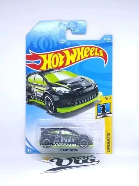 Hotwheels  Ford Fiesta Hijau Tosca