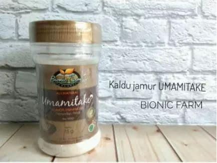 harga Bionic farm umamitake - kaldu jamur non msg Tokopedia.com