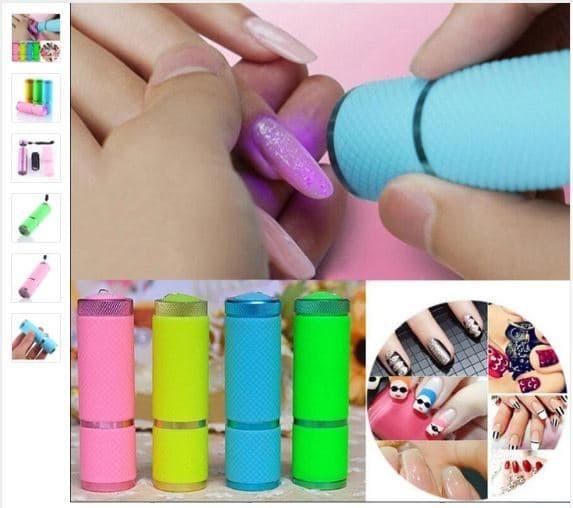 harga Senter mini ultraviolet - 9 led / mini alumunium uv flashlight Tokopedia.com