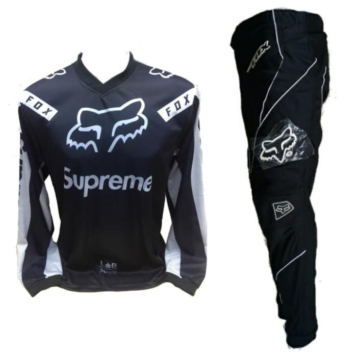 harga Jersey celana setelan trail cross motocross adventure fox Tokopedia.com