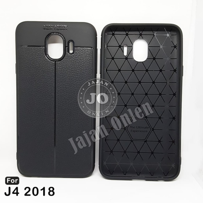 Auto Focus Case Casing Samsung j4 2018 Hitam Doff Softcase