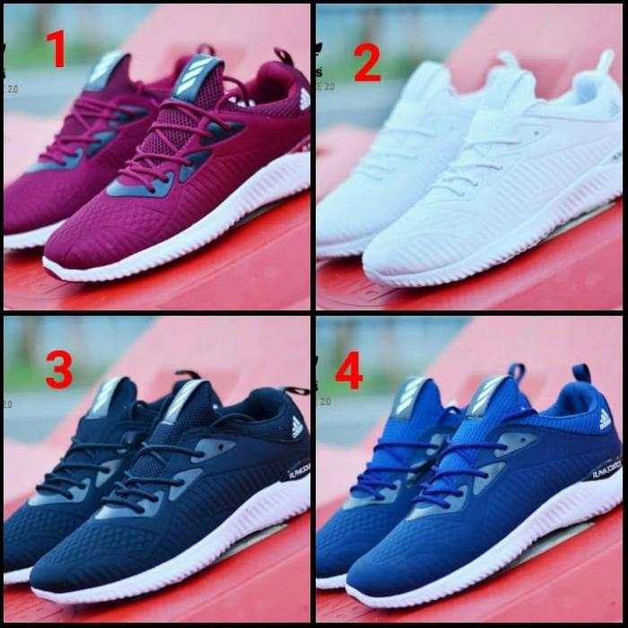 harga Sepatu sneakers sport pria adidas zoom olahraga casual sekolah murah Tokopedia.com