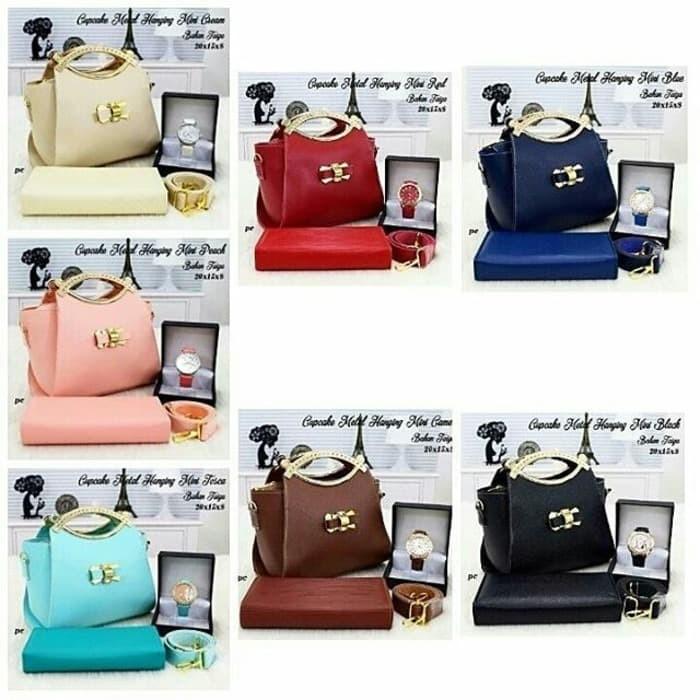 Tas murah tas paket tas set 11 fashion wanita tas hand bag wanita