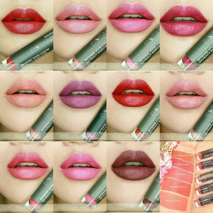 Mineral Botanica MICA Soft Matte Lip Cream # 009 Pinky Orange