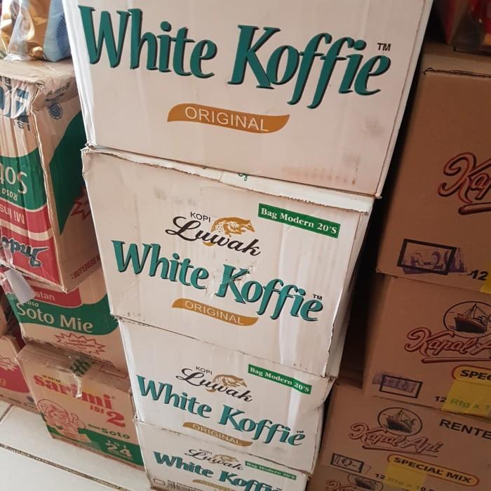 Luwak White Coffee isi 20 renceng
