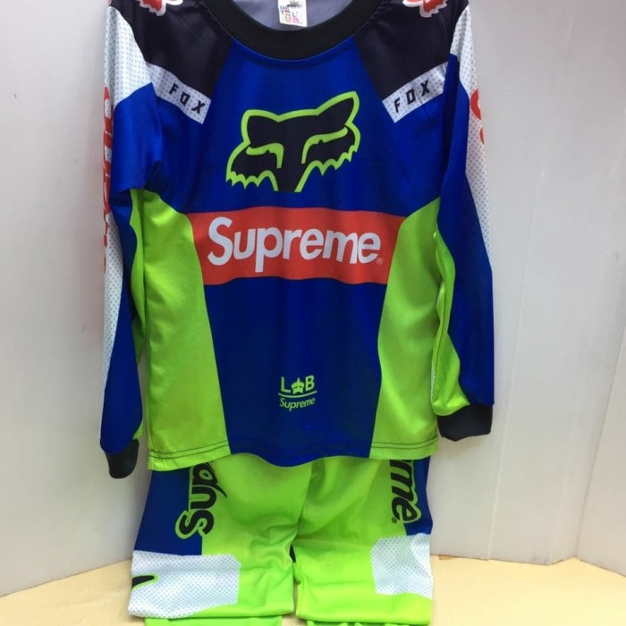 harga Grosir murah jersey setelan anak trail cross motocross merah fox Tokopedia.com