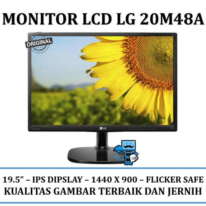 harga Monitor lcd lg 20m48a - lcd ips led monitor 19.5 Tokopedia.com