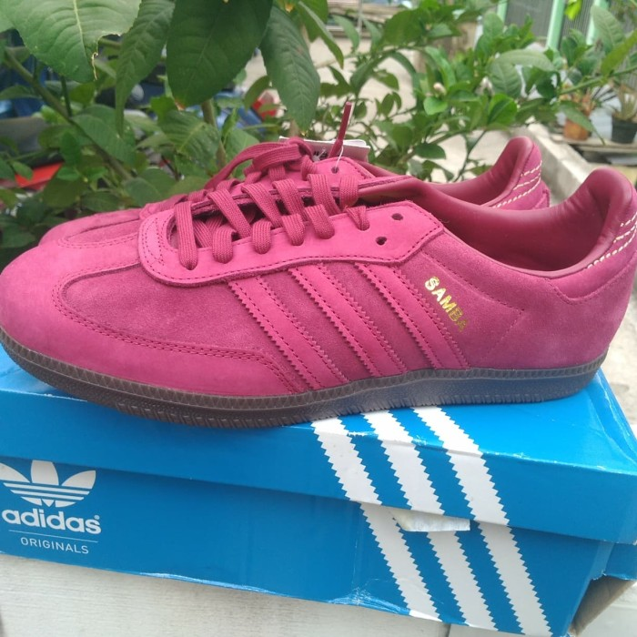 differently uk store the cheapest Jual Adidas Samba FB not stockholm munchen stone island - Merah, 42 - DKI  Jakarta - Menz Casual 97 | Tokopedia
