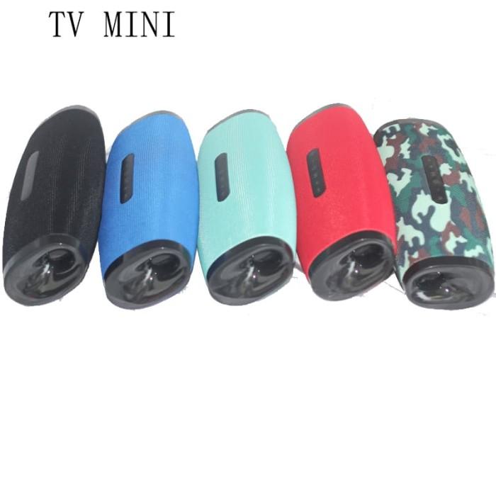harga Tv mini perfect choice bluetooth portable speaker original - biru muda Tokopedia.com