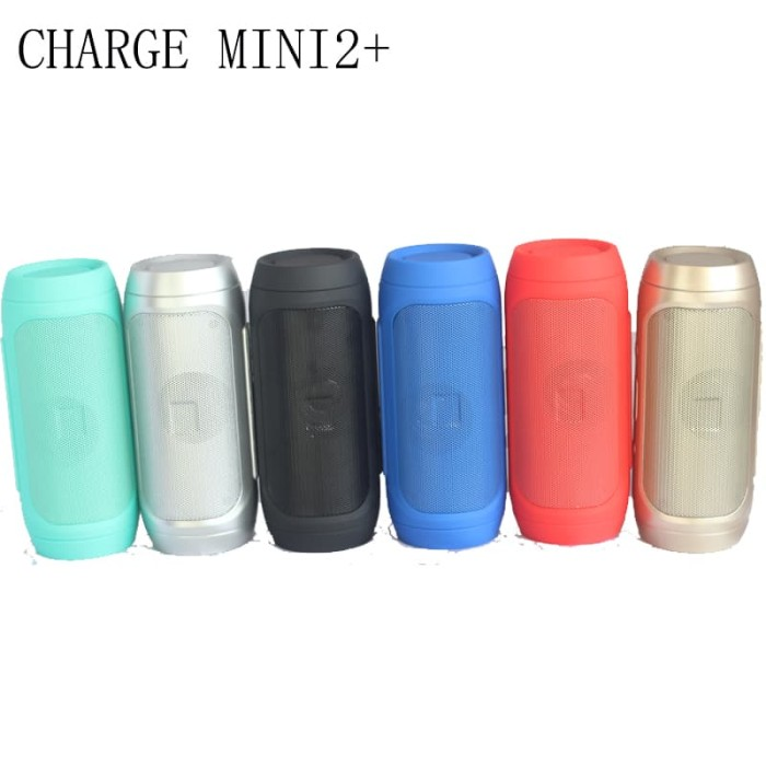 harga Charge mini2+ perfect choice bluetooth portable speaker original - merah Tokopedia.com