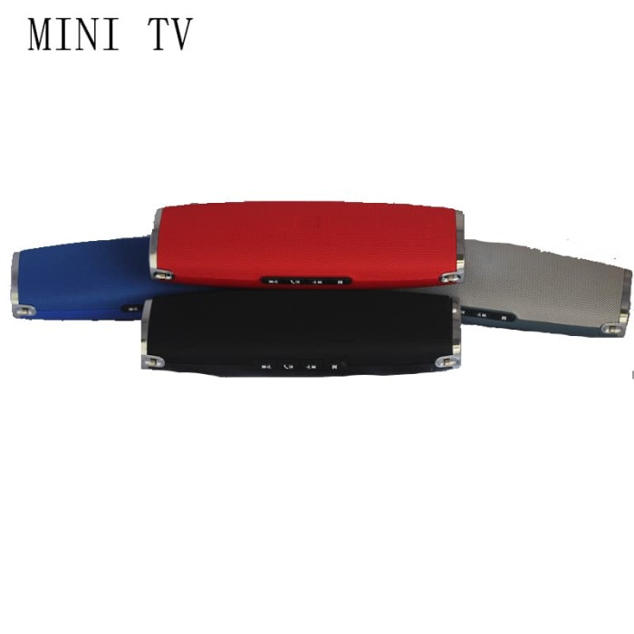 harga Mini tv perfect choice bluetooth portable speaker original - perak Tokopedia.com