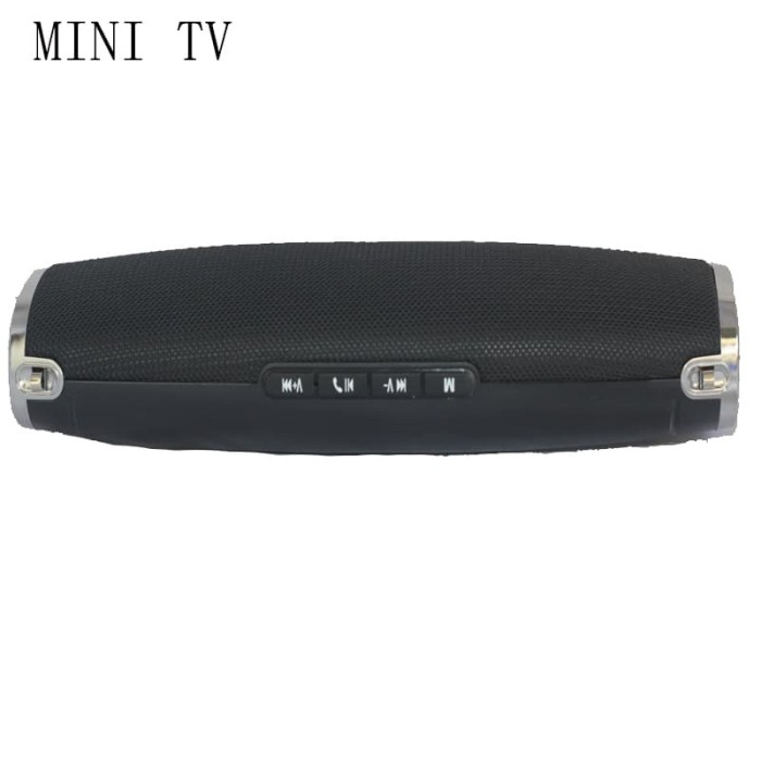 harga Mini tv perfect choice bluetooth portable speaker original - hitam Tokopedia.com