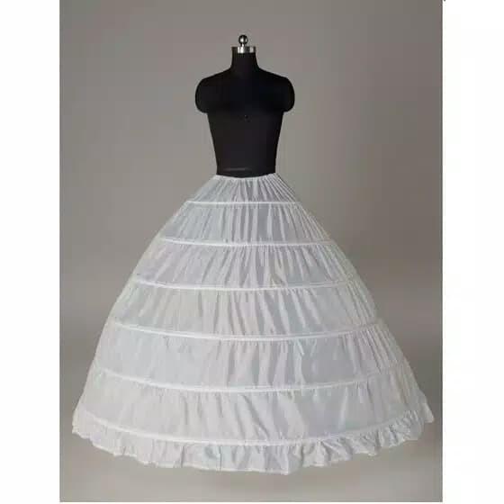harga Pengembang gaun/petticoat 6 ring Tokopedia.com