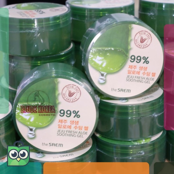 The SAEM - Jeju Fresh ALOE VERA Soothing Gel 99% Made in Korea