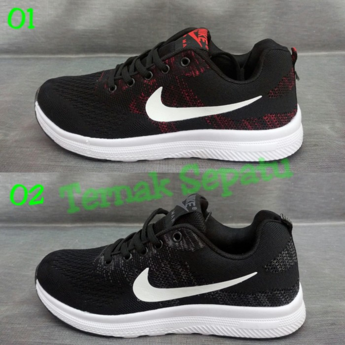 buy online eb122 b5266 Jual Sepatu Nike Air max Flyknit Zoom Pegasus Pria Sneakers Cowok Import -  Kab. Tangerang - Ternak Sepatu | Tokopedia