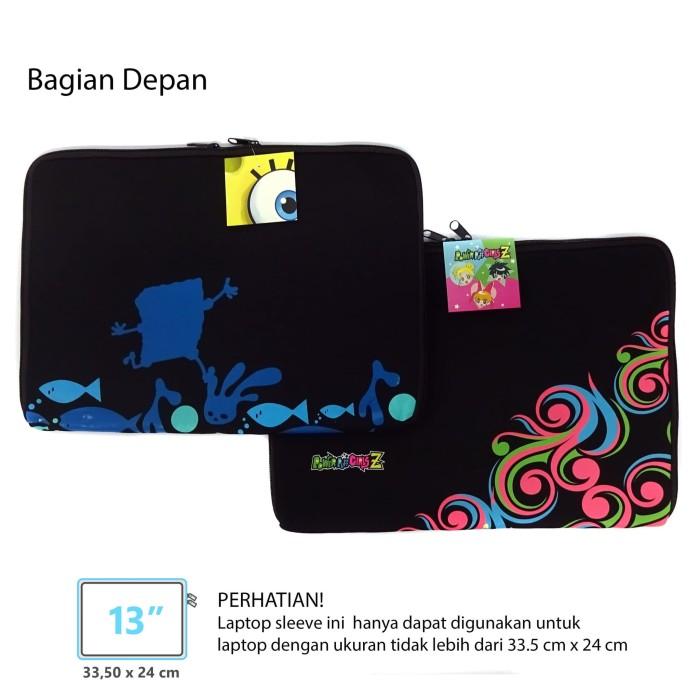 harga Paket laptop sleeve 13 inch spongebob & ppg z - tas laptop 13 inch Tokopedia.com