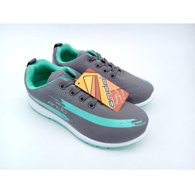 ANDO Lindsey Original Bonus Kaos Kaki- Sepatu Olahraga Lari Kuliah