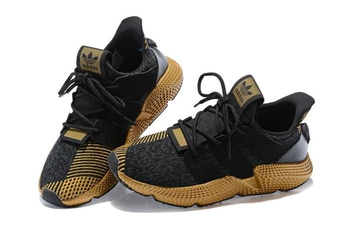 Jual Sepatu ADIDAS Prophere ClimaCool Black Gold High Premium ... 3c7ce03331